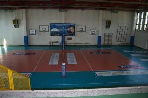 Il palazzetto sportivo dell'Istituto Fermi